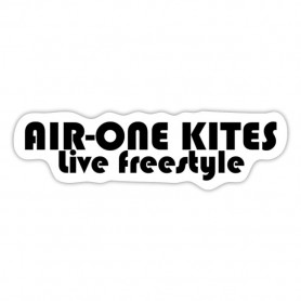 Stickers Air-One Kites - Live freestyle